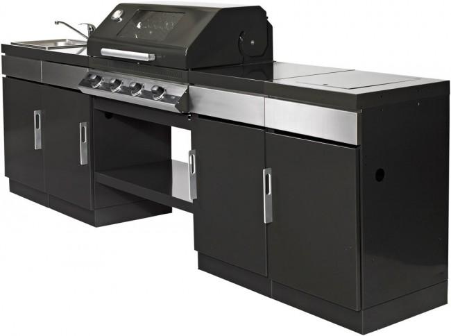 Come ho scelto il mio barbecue a gas da incasso it notizie - Cucina gas esterno ...