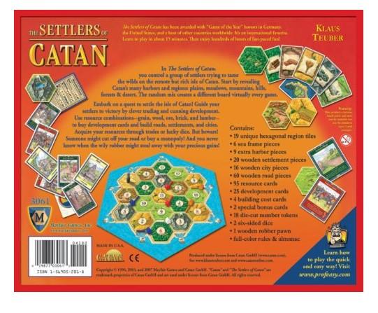 Fatti rapidi sui coloni di Catan
