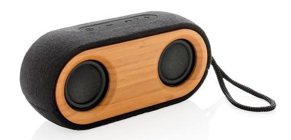 Doppio altoparlanti Bluetooth Bamboo X